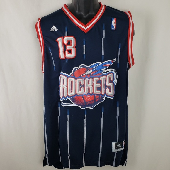 classic fit a5ea5 36eaa James Harden Throwback #13 Houston Rockets Jersey